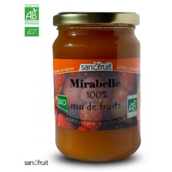 PUREE 100% FRUIT SS SUCRE MIRABELLE 320g